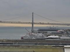 Explorer of the Seas - Pacific Coastal Cruise (Jasperdo) Tags: exploreroftheseas royalcaribbeancruiseline cruise cruising sanfrancisco california cruiseterminal pier27 sanfranciscooaklandbaybridge bridge