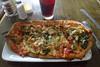 Pie (Rich Renomeron) Tags: olympusmzuiko1442mmf3556ez olympusomdem10 bethanybeach food pizza