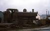 60s steam MF 21-12-69 L91 at Chesterfield Steelbreaking & Dismantling Ltd (dubdee) Tags: l91 gwr br 060pt 5757 londontransport awx161g duple bedfordvas5 blueline chesterfieldsteelbreakingampdismantlingltd