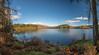 Loch Drunkie (Mac ind Óg) Tags: loch autumn walking lochlomondandthetrossachsnationalpark scotland lochdrunkie panorama landscape aberfoyle queenelizabethforestpark achrayforest waterscape forest