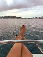 Barco sin titulación en Menorca