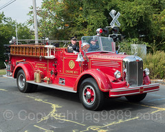 Demarest NJ Antique Fire Truck, 2017 Northern Valley Fire Chiefs Parade, Northvale, New Jersey (jag9889) Tags: 2017 20171007 antique apparatus bergencounty demarest engine firedepartment firetruck gardenstate mack nj newjersey northvale outdoor parade people pumpertruck truck usa unitedstates unitedstatesofamerica vehicle jag9889 us