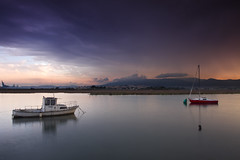 TERESA (jaocana76) Tags: rio river velero palmones riopalmones atardecer sunset losbarrios campodegibraltar estrechodegibraltar straitsofgibraltar strog nubes clouds nuboso cloudy jaocana76 juanantonioocaña canon1635 canoneos7d