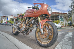 Ducati (dmentd) Tags: ducati motorcycle caferacer
