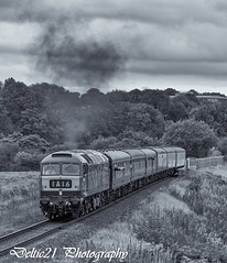20170923-IMG_6240-Edit (deltic21) Tags: eastlancs east lancashire lancs rail railway railways rails train trains traction track tracks british britishrail brblue bw blackwhite brgreen br brmaroon classic clag class diesel dieselgala gala monochrome northwest north canon ramsbottom rammy rawtenstall bury burrs summerseat brooksbottom class47 d1501 1501 brush duff spoon type 4 type4 preservation preserved station elr