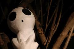 Kodama (superzookeeper) Tags: kodama princessmononoke formosa 5dmk4 5dmkiv canoneos5dmarkiv ef2470mmf28liiusm eos digital taiwan tw taichung busstop nekobus totoro catbus night studioghibli street ghost spirit creepy