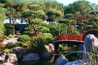 Japanese garden in Montecarlo