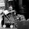 Sally Anne (innpictime ζ♠♠ρﭐḉ†ﭐᶬ₹ Ȝ͏۞°ʖ) Tags: red blackwhite mono hereford market spotcolour elderly woman bonnet salvationarmy sallyanne collectingbox shoppingtrolly rnib rug salvationist 520566412715704 christian protestant