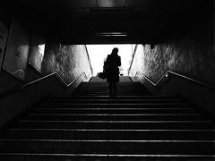 R0016300 (kenny_nhl) Tags: ricoh road grd grd4 grdiv provoke streetphotography street snap shot shadow scene surreal streephotography seoul visual 28mm monochrome photo people photography explore explored korea life city black blackwhite bw blackandwhite