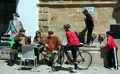 Cafe Life (Alan1954) Tags: spain ronda cafe people candid holiday 2013