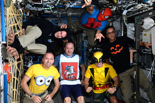 Happy Halloween from Expedition 53!