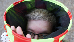 303 - Stuck In a Tube (jbpro) Tags: funny goofy 365 days photo challenge november glasses cat toy tube