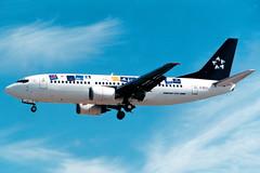 British Midland | Boeing 737-300 | G-BYZJ | Star Alliance livery | London Heathrow (Dennis HKG) Tags: britishmidland bma bd bmi boeing 737 737300 boeing737 boeing737300 aircraft airplane airport plane planespotting london heathrow egll lhr gbyzj staralliance