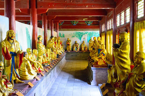 Shaolin Temple - Goldens Buddhas