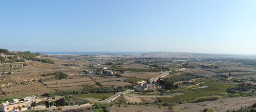 View from Mdina city walls