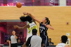 Women's Basketball vs. Niagara-6 (centennial_colts) Tags: green scream toronto ontario ocaa ocaacentennialcolts occcr basketball womens varsity ova preseason college colts centennialcolts