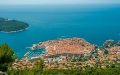 Dubrovnik (05) (Vlado Ferenčić) Tags: birdperspective dubrovnik srđ sea seascape vladoferencic hrvatska vladimirferencic croatia adriatic adriaticsea jadranskomore jadran nikond600 nikkor173528