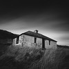 Morar Bothy (Mark Rowell) Tags: morar highlands scotland bothy bw blackandwhite 6x6 120 mediumformat hasselblad 903 swc fuji acros weldingglass longexposure film
