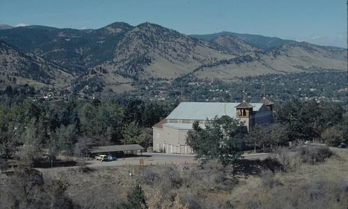 Photo - Overview of the Colorado Chautauqua auditorium (c. 1985).