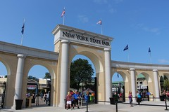 New York State Fair Entrance (demeeschter) Tags: usa new york state fair syracuse city town attraction market games rides livestock animals farm food show