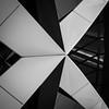 St Mary Axe (benjaminjohnson1983) Tags: 2017 aluminium blackwhite facade flickr london londonvisit2017aug2 metal monotone structure triangles stmaryaxe
