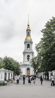 S.Pietroburgo : Campanile della chiesa di S. Nicola Marino .
