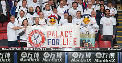 Palace for Life Marathon March, London - UK - 7th October 2017 (Palace for Life Foundation) Tags: palaceforlifemarathonmarch londonuk7thoctober2017 epl premierleague football ball soccer charity fans palaceforlifefoundation london gbr spt