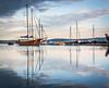 Masts (Pawelczyk Piotr) Tags: slovenia slovenija europe coast water sea adria adriatic sunset boat ship reflection mast masts seascape day piran portoroz lucija nikon d7100 sigma 1020 1750 formaviva