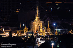 11oct17j5nightscape-1 (pxs119) Tags: king rama ix cremation พระเมรุมาศ ร๙ royal funeral pyre bangkok thailand