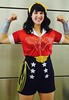 DSC_0075 (Randsom) Tags: newyorkcomiccon october7 2017 nycc nyc newyorkcity costume jacobjavits comic con convention cosplay dccomics dc superhero wonderwoman heroine superheroine justiceleague jla bombshell smile blackhair javits october6