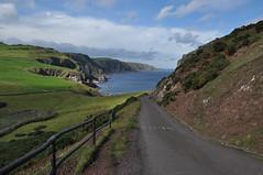the road back (werewegian) Tags: stabbs head lighthouse walk borders coastline sunshine werewegian sep17 road dilosep2017