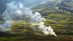 (Ducrong) Tags: terraces field smoke ruộngbậcthang caophạ khauphạ mùcangchải travel landscape ducrong