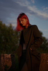 pinnk (Ivan Ovchinnikov) Tags: pink film girl portrait evening sunset sunsetlight agfa vista nikon nikonf4 canon canoscan mark 9000f analog select chiile ivanovchinnikov ивановчинников пермь