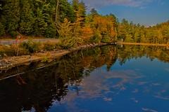 LakePlacid  New York ~ Sunset Reflection Off Lake