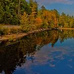 LakePlacid  New York ~ Sunset Reflection Off Lake thumbnail
