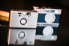 Contax T3 vs Leica CM (komillus) Tags: nikon d700 kinoptik 100mm f2 apo apochromat paris france