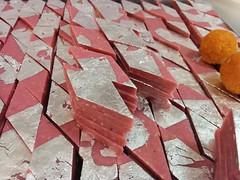 Kaju Katli (bombaysweets.uae) Tags: bombaysweetsuae indianfood indiansweets indiansnacks indianfastfood fastfood streetfood indianstreetfood uae dubai indian snacks sweets bohra bohrafood mithai misthi