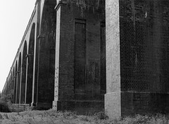 Welland viaduct (ianneesham) Tags: filmdev:recipe=11633 fujineopanacros100 film:brand=fuji film:name=fujineopanacros100 film:iso=100