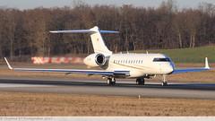 Bombardier Global 5000 COMLUX AVIATION HB-JRR 9198 Mulhouse décembre 2015 (Thibaud.S.Photographie) Tags: bombardier global 5000 comlux aviation hbjrr 9198 mulhouse décembre 2015
