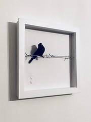 WAR & PEACE by Emo Raphiel Astoria 2017 (c) (EMO - urban art) Tags: hotel off walled royal famous urban street wire barbed minimal framed friend banksy peace war bird art artist astoria raphiel emo