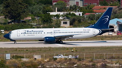 Blue Panorama - Boeing 737-800 - EI-GAX (domi26495) Tags: blue panorama boeing 737800 eigax skiathos lgsk jsi planespotter spotter aircraft airplane flugzeug canon 70d