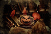 Smashing Pumpkins (drei88) Tags: jackolantern halloween pumpkin energy flicker candle scare haunted childhood memories fright innocence charm night dark shadow light atmosphere searching smashingpumpkins october cold wind spooky eerie