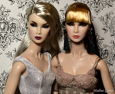 Lilith & Eden (Nadine Gomes) Tags: fashion royalty wclub integrity toys nu face poetic beauty lilith eden blair gift set doll 2017 exclusive smoke mirrors