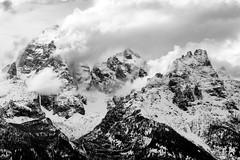 Snow.  Fall. (nevadoyerupaja) Tags: mountains usa landscape jacksonhole tetons wyoming