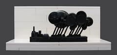 Deluge (Grantmasters) Tags: minimal micro lego art industrialisation rain