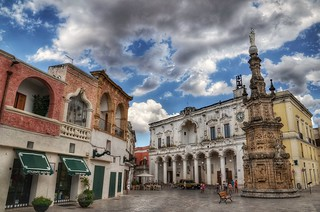 Nardò, little town in the