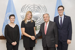 ICAN meeting with the UN Secretary-General