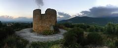 Ο ανεμόμυλος της Σκάλας ( The Windmill of Skala ) (Andrew Aliferis) Tags: windmill greece greek ruin village historic andrew andy aliferis aga panorama iphone iphoneography