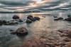 Dark Autumn mood (BigWhitePelican) Tags: helsinki finland autumn morning murky badmood dark sea suomenlahti lauttasaari canoneos70d adobelightroom6 2017 october