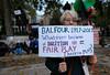 Challenging Theresa May on Palestine. (alisdare1) Tags: palestine palestinians protest gaza westbank occupation humanrights israel jerusalem march london palestinesolidarity psc palestiniansolidarity demo demonstration netanyahu illegalsettlements unitedkingdom britain unitedstates balfour balfourdeclaration bds anniversary fuji fujixpro2 fujifx16mm fujix